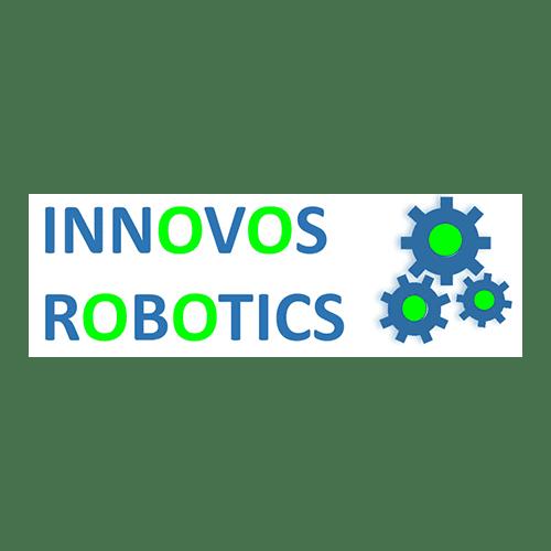 Innovos Robotics Logo with Gears