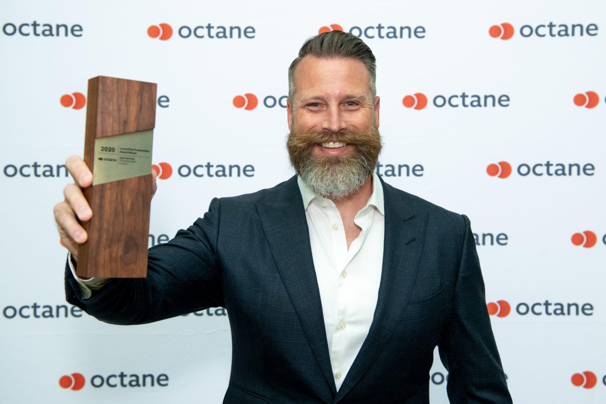 Robert Towles, finalist at Octane's HTA 2020